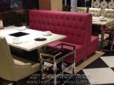 工厂生产防火板火锅桌 人造石方形火锅桌 不锈钢火锅餐桌