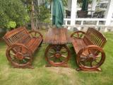 供天津实木家具,碳化木家具,防腐木家具