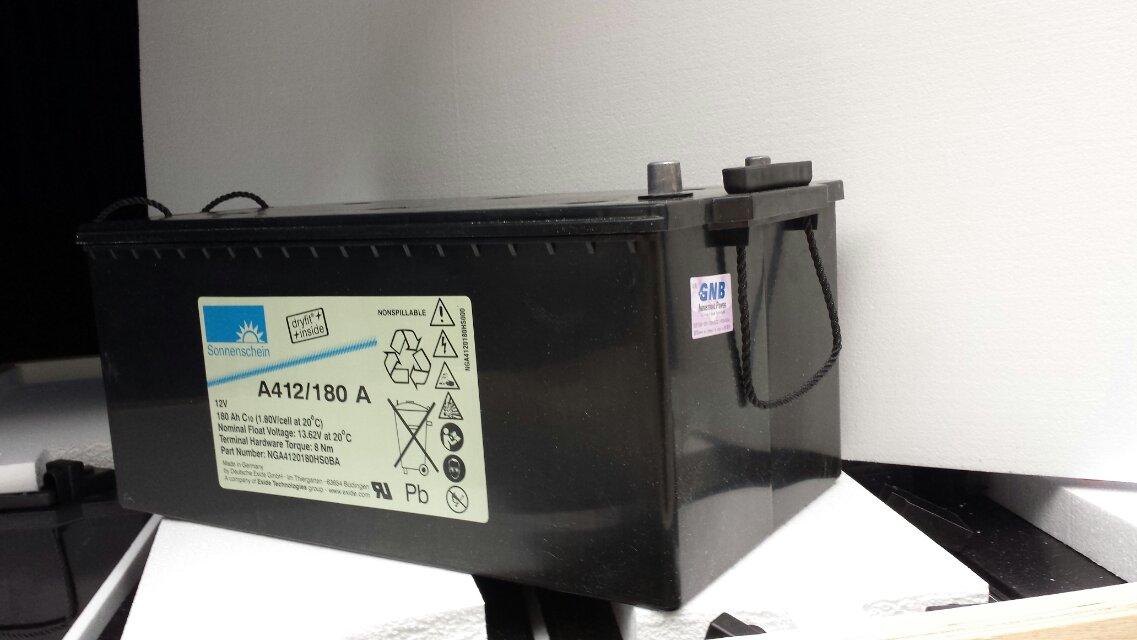 德国阳光蓄电池a412/100a代理报价/参数(送连接线)