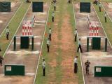 武警训练400米障碍器材批发,厂家直销四百米障碍器材
