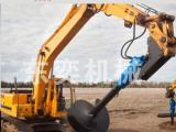 螺纹钻机-挖掘机钻孔 栽树引孔 载电线杆专用机械