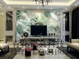 玉石3D背景墙客厅装饰壁画效果图