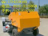 大型拖拉机带动圆捆打捆机 秸秆打包机厂家视频x1