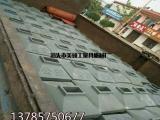 厂家批发定做各种口径铸铁护栏底座 城市市政公路护栏铸铁墩子