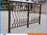 厂家直销高档铝合金阳台栏杆 铸铝焊接古铜色扶手护栏定制