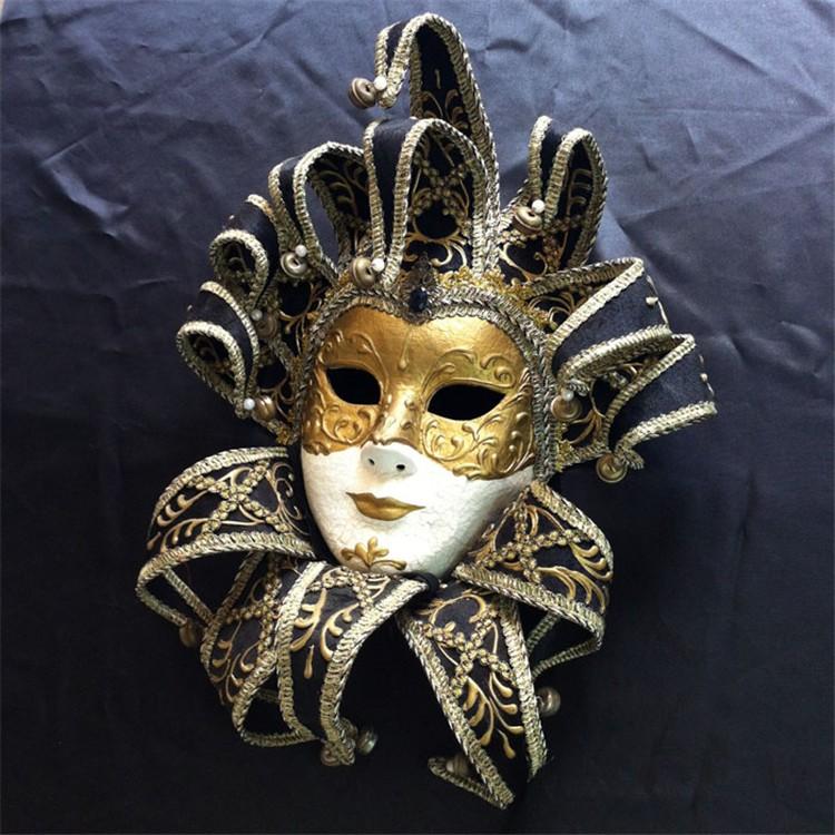 威尼斯手绘面具化妆舞会环保面具节日面具
