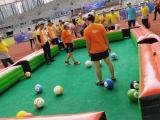 足撞球脚踢式台球斯诺克足球snookball休闲充气版