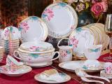 礼品陶瓷餐具定做 合元陶瓷餐具厂家