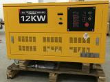 改装车载12KW汽油发电机噪音低