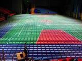 第三建筑工程公司羽毛球地胶成功案例