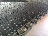 污泥烘干输送带不锈钢链板-威诺网链