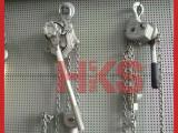 日本NGK铝合金手扳葫芦,RICKY-2,0.75T1.5M