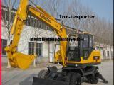 胶轮挖掘机价格_胶轮挖掘机多少钱一台