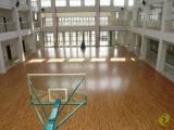 小韩小学运动馆木地板铺设成功案例