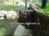 藏獒养殖用不锈钢绳网,黑色氧化处理的不锈钢绳网