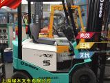 3节门架二手电瓶叉车 1.5吨神钢SHINKO全电动堆高机