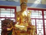 厂家供应铜雕佛像文殊菩萨雕塑