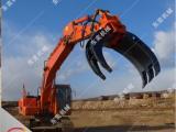 挖掘机抓木器 夹石器价格 莲花抓厂家