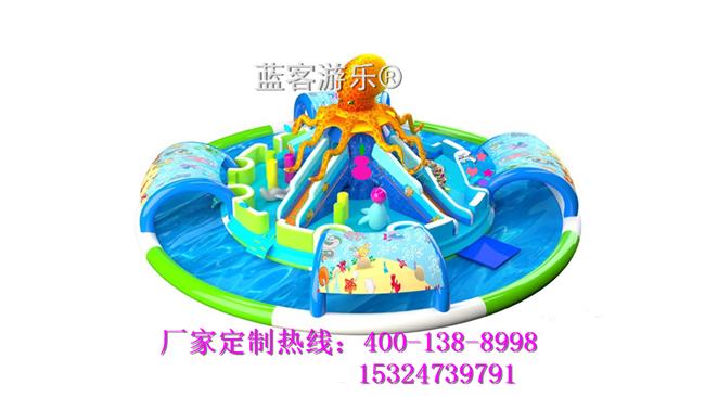 大型水晶宫充气透明球海洋泡泡球池儿童游乐设备生产厂家