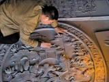 星级酒店传统手工艺艺术品之酒店砖雕设计