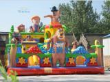 幼儿园充气蹦蹦床 儿童小型跳跳床价格 海底总动员充气城堡