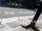 供应绿道通品牌不同尺寸防撞警示柱、U型防撞护栏