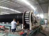 HDPE立筋钢带缠绕管生产线,塑钢排污管生产设备厂家直销