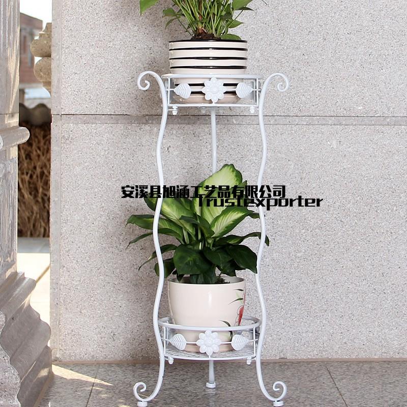 艺多层绿萝花架吊兰阳台栏杆花架客厅