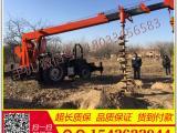 8T吊车改装挖坑机 拖拉机起重机 改装拖拉机起重机