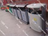 供应加厚不锈钢垃圾桶德隆直销