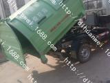 厂家直销钩臂式垃圾车 车厢可卸式垃圾车 垃圾收集车德隆
