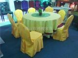 餐桌,折叠酒店桌,PVC宴会圆桌,防水面桌子,酒店家具厂家