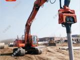 挖掘机液压振动打桩机