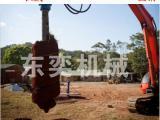 螺旋钻机,挖掘机螺纹钻,挖机成孔机械