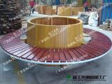 厂家大量供应批发防腐木花槽树槽 有座位户外特大花箱木质花箱