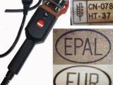 卡板木托盘EPAL EUR烫印机 熏蒸装箱标识IPPC烙印机