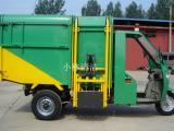 济宁小林三轮翻桶垃圾车 垃圾装运车 电动三轮垃圾车