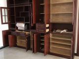 长沙实木家具定做材料工艺、实木储物柜定做安装送货