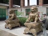 摆放铜雕狮子的具体意义
