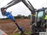 挖掘机钻孔设备 改装螺旋钻机