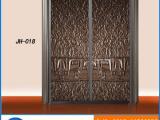 铝合金进入门 铸铝进户门定制 高档别墅庭院门定制