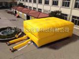 北京消防部队紧急救援逃生气垫