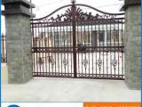 定制铸铝合金别墅庭院大门 户外防锈免维护高档门