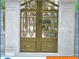 铝合金大门欧式别墅庭院门 高档古典电动门定做 花园门