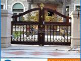 铝合金别墅庭院大门 户外防锈欧式铸铝门 中式铝艺大门