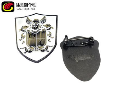 锌合金镀金烤漆徽章 金属个性徽章 广州徽章现货供应