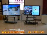 广州商业显示器大屏一体机多点触摸55寸壁挂式一体机
