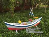 欧式木船 景观木船 草坪装饰船 养花船