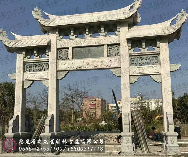 2017福建惠安石雕牌坊最新价格