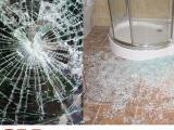 上海酒店淋浴房浴室玻璃防爆膜